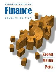 Foundations of Finance 7th Edition 9780136113652 0136113656