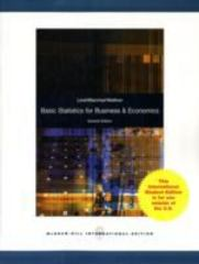 Basic Statistics for Business & Economics (International edition) 7th edition 9780071220996 0071220992