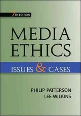 Media Ethics 7th Edition 9780073511948 0073511943