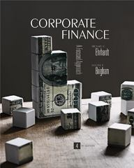 Corporate Finance (with Thomson ONE - Business School Edition) (Available Titles Cengagenow) 4th edition 9781439078082 1439078084