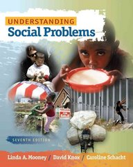 Understanding Social Problems 7th edition 9780495812968 049581296X