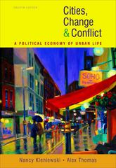 Cities, Change, and Conflict 4th edition 9780495812227 0495812226