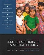 BUNDLE: Jimenez: Social Policy and Social Change + CQ Researcher: Issues for Debate in Social Policy 0 9781412979818 1412979811