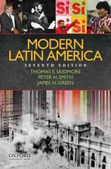 Modern Latin America 7th Edition 9780195375701 019537570X