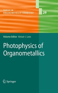 Photophysics of Organometallics 1st edition 9783642047282 3642047289