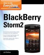 How to Do Everything BlackBerry Storm2 1st edition 9780071703321 0071703322