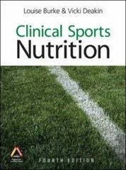 Clinical Sports Nutrition, 4th Edition 4th Edition 9780070277205 0070277206