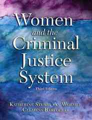 Women and the Criminal Justice System 3rd Edition 9780137008780 0137008783