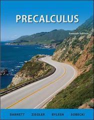 Precalculus 7th edition 9780073519517 0073519510