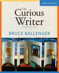 Curious Writer, The, Brief Edition 3rd edition 9780205707652 0205707653