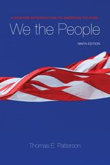 We The People 9th edition 9780073379067 0073379069