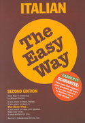 Italian the Easy Way 2nd Edition 9780812091465 0812091469