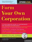 Form Your Own Corporation 5th edition 9781572485167 1572485167