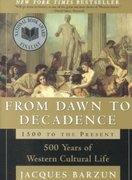 From Dawn to Decadence 1st edition 9780060928834 0060928832