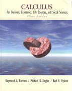 Calculus for Business, Economics, Life Sciences, and Social Sciences 9th edition 9780130920539 0130920533