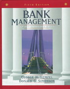 Bank Management 5th Edition 9780471169604 0471169609