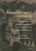 Reconceiving the Family 1st edition 9780521861199 0521861195