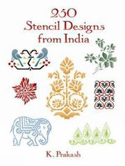 250 Stencil Designs from India 0 9780486290263 0486290263