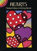 Hearts Stained Glass Coloring Book 0 9780486438443 0486438449