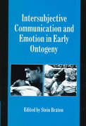 Intersubjective Communication and Emotion in Early Ontogeny 0 9780521622578 0521622573