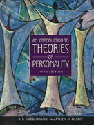 An Introduction to Theories of Personality 5th edition 9780138955090 0138955093