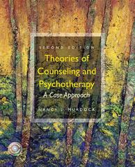 Theories of Counseling and Psychotherapy 2nd edition 9780132286527 0132286521
