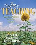 The Joy of Teaching 1st edition 9780205405596 0205405592