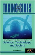 Taking Sides Science, Technology, and Society 6th edition 9780072917130 007291713X