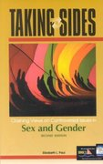 Taking Sides Sex and Gender 2nd Edition 9780072489255 0072489251