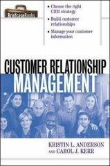 Customer Relationship Management 1st Edition 9780071379540 0071379541