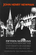 Fifteen Sermons Preached before the University of Oxford 3rd Edition 9780268009960 0268009961