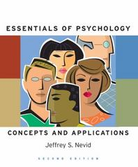 Essentials Of Psychology: Concepts and Applications 2nd edition 9780547014555 0547014554