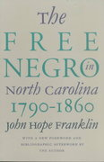 The Free Negro in North Carolina, 1790-1860 2nd edition 9780807845462 0807845469