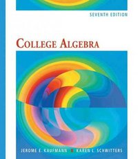 College Algebra 7th edition 9780495554035 0495554030