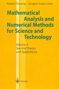 Mathematical Analysis and Numerical Methods for Science and Technology 0 9783540660996 3540660992
