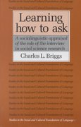 Learning How to Ask 1st Edition 9780521311137 0521311136