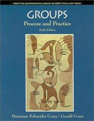 Groups 6th edition 9780534347895 0534347894