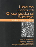 How To Conduct Organizational Surveys 1st edition 9780803955134 0803955138