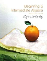 Beginning & Intermediate Algebra 4th edition 9780136007319 0136007317