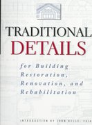 Traditional Details 1st edition 9780471247616 0471247618