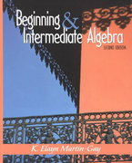 Beginning and Intermediate Algebra 2nd edition 9780130166364 0130166367