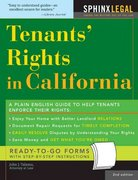 Tenants' Rights in California 2nd edition 9781572485150 1572485159