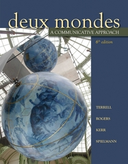 Deux mondes: A Communicative Approach (Student Edition) 6th edition 9780073535449 0073535443