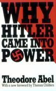 Why Hitler Came into Power 1st Edition 9780674952003 0674952006