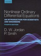 Nonlinear Ordinary Differential Equations 4th edition 9780199208258 0199208255