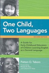 One Child, Two Languages 2nd Edition 9781598574715 159857471X