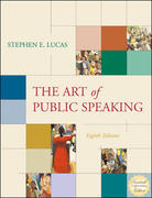 The Art of Public Speaking, PowerWeb and Topic Finder 8th edition 9780073023892 0073023892