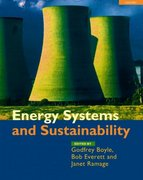 Energy Systems and Sustainability 1st edition 9780199261796 0199261792