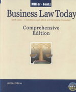 Business Law Today, Comprehensive 6th edition 9780324120950 0324120958