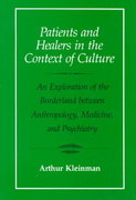 Patients and Healers in the Context of Culture 0 9780520045118 0520045114